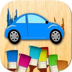 Araba Boyama Oyunu Kalemle Araba çizimlerini Boya App Storeda