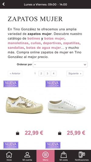 0b03d28a Tino González – shop & shoes en App Store