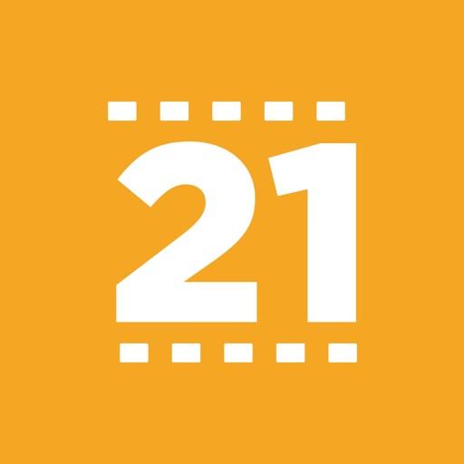 21Frames application logo