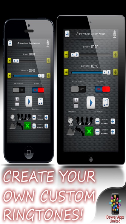 myRingtoneCreator - Ringtone Maker Design Studio