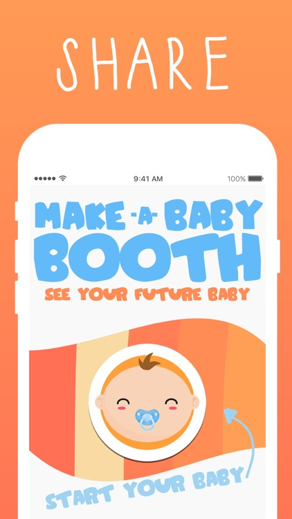 Make A Baby Booth: See your future baby & child! screenshot-3