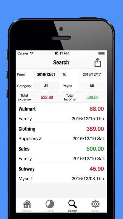 Spending Tracker-Expense, Income & Account Balance screenshot-2