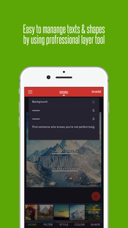 InstextUs - Colorful Text for Instagram
