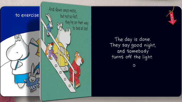 The Going to Bed Book by Sandra Boynton Screenshot
