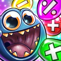 Monster Math for kids - 1st, 2nd, 3rd grade games