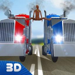 Dummy Truck Split Crash Test Simulator