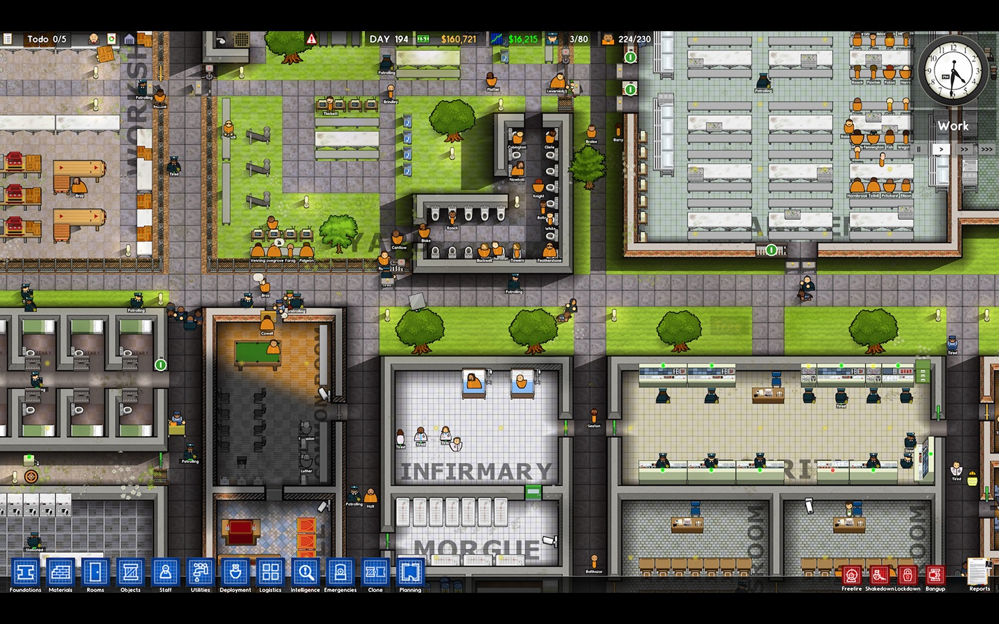 Screenshot do app Prison Architect