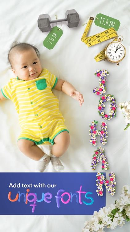 Baby Moments - pregnancy & baby milestone photos