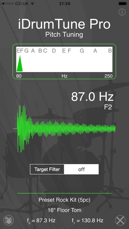 Drum Tuner - iDrumTune Pro screenshot-1