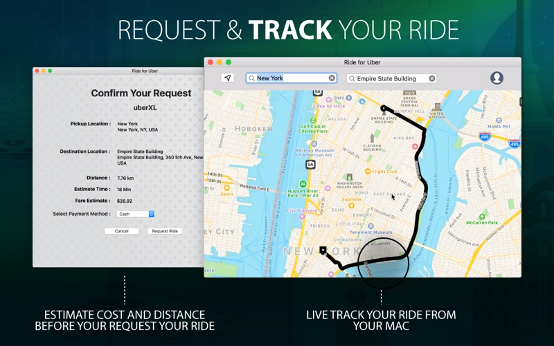 iRide for Uber скриншот программы 2