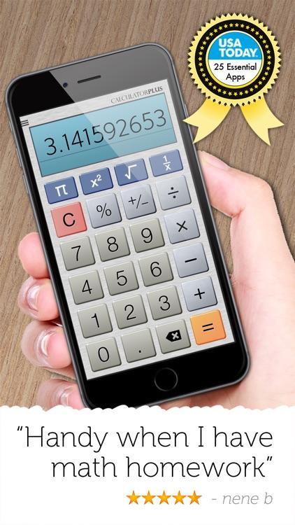 Calculator Plus - Full Screen Version screenshot-3