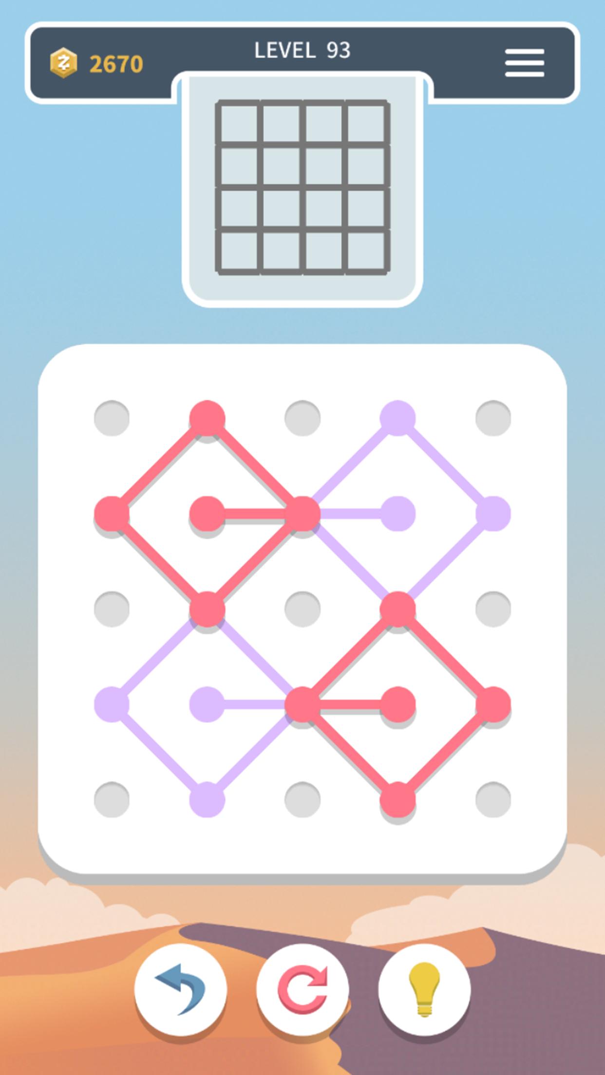 Weave the Line Screenshot