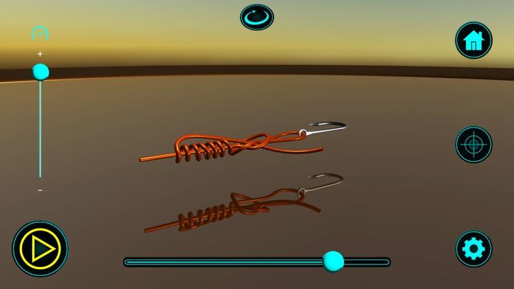Fishing Knots Real 3D screenshot-3