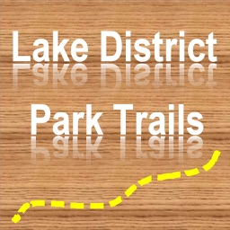 Trails of Lakes District - GPS Topo Maps, Hiking