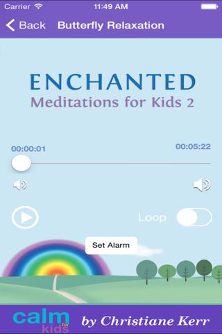 Enchanted Meditations For Kids 2 by Christiane Ker - náhled