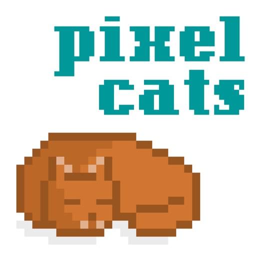 Pixel Cat Stickers