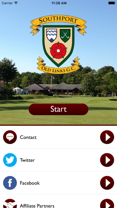 Southport Old Links Golf Club screenshot one