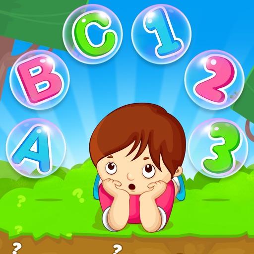 ABC 123 Memory Games - Flash Card Game