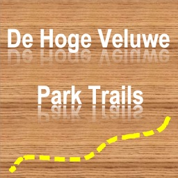 Trails of De Hoge Veluwe Park - GPS Outdoor Maps