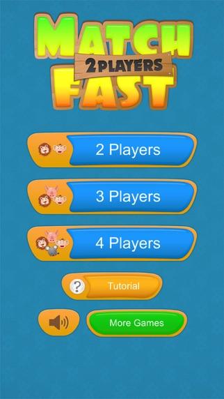 2인용 게임 - Match Fast for Windows