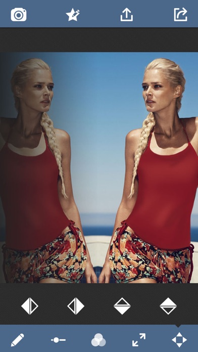 Water Effect - Mirror Photo Reflection Collage Artのおすすめ画像4