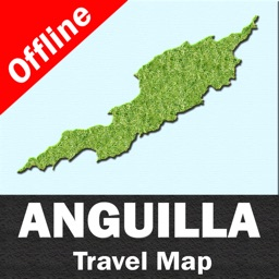 ANGUILLA – GPS Travel Map Offline Navigator