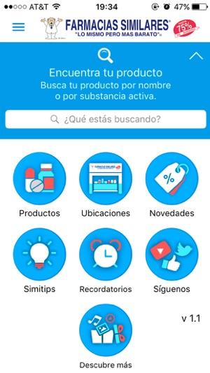 Farmacias Similares En App Store