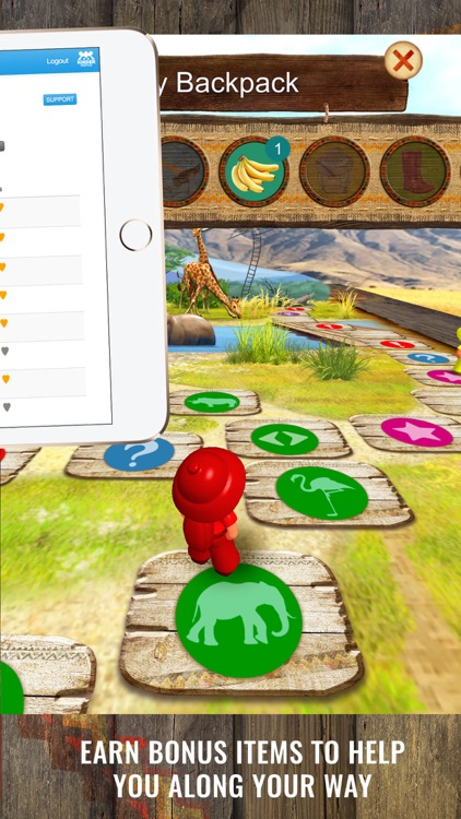 Safari Quest: kids board games screenshot-4