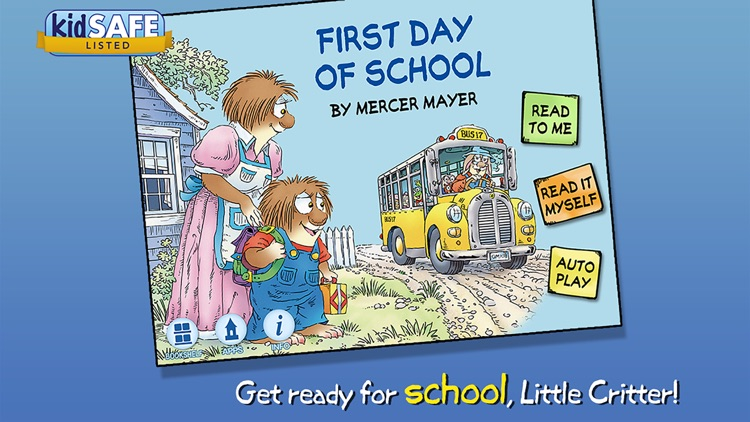 First Day of School - Little Critter