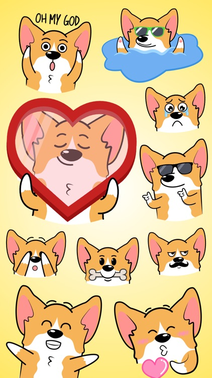 CorgiMOJI - Welsh Corgi Emoji & Stickers
