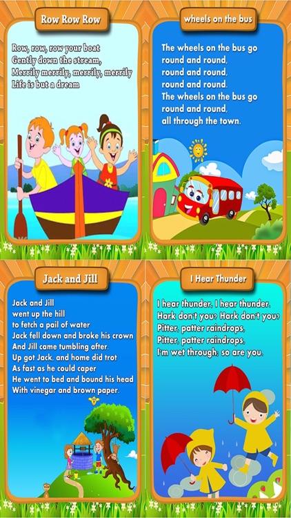 Cute Nursery Rhymes - Rhymes For Toddlers
