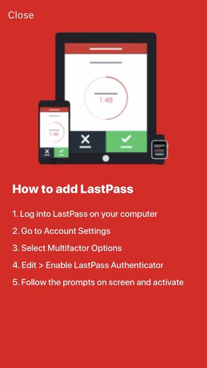 LastPass Authenticator screenshot-4