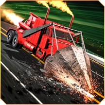 GT斜坡卡车 - 公路拆除德比