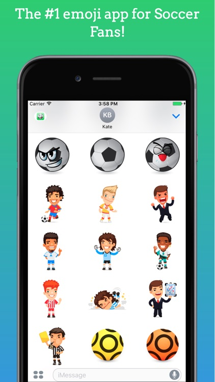 FootMoji PRO - Soccer Emoji & Stickers