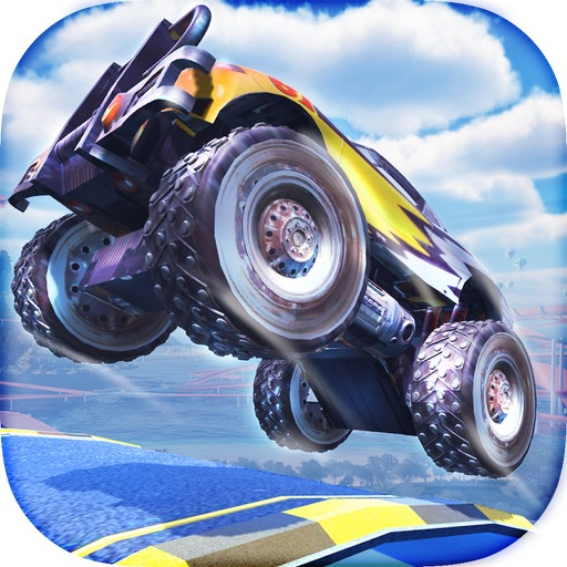 Crazy Monster Truck Racing Game