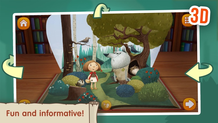 The Little Red Riding Hood ~ Fairy Tale for Kids screenshot-3