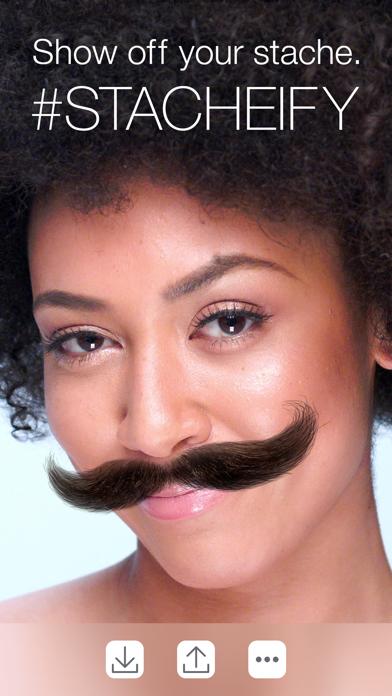 Stacheify - Mustache face app
