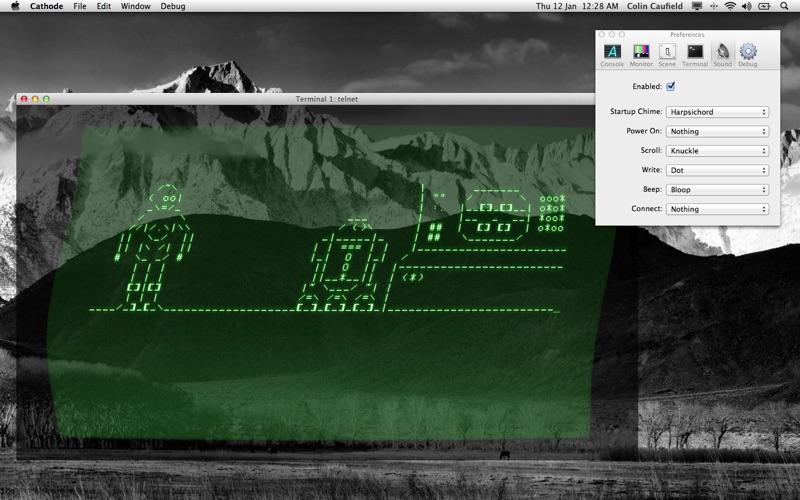 Cathode review screenshots