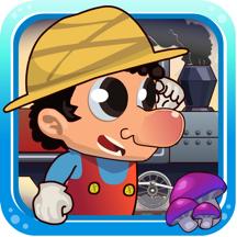 收集超级蘑菇-经典玛丽冒险游戏