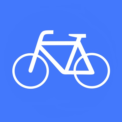 CycleMaps: Cycling Route Planner App app logo