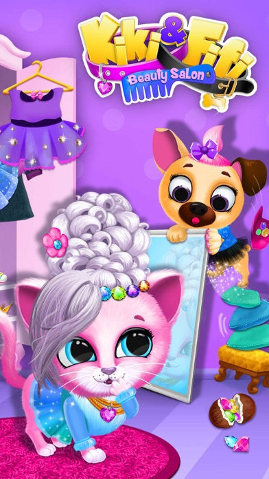 Kiki & Fifi Pet Beauty Salon - Haircut & Makeup screenshot 1
