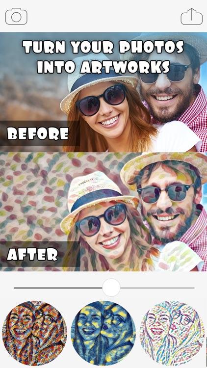 Art Filters & Effects - Cool Art Photo Editor screenshot-4