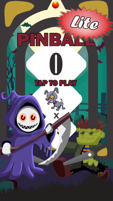 Zombie Pinball Arcade: classic game for Kid Adults screenshot one