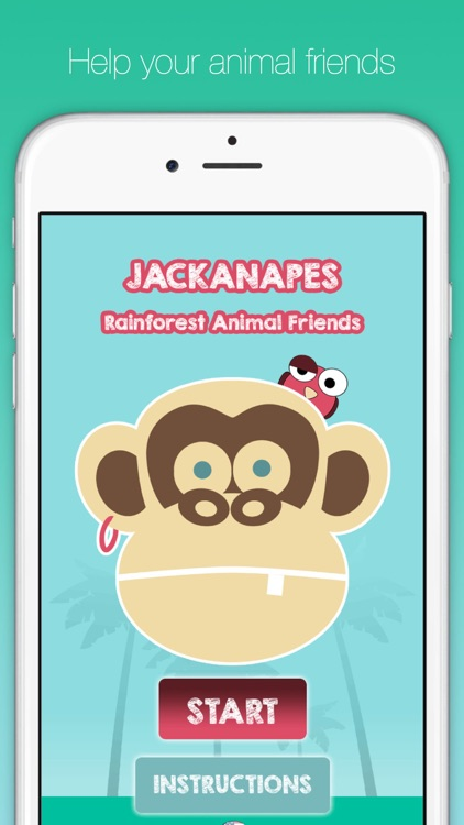Jackanapes - Rainforest Animals screenshot-0