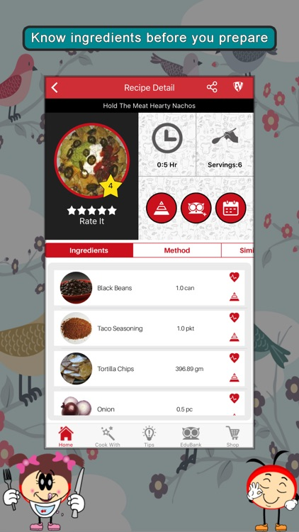Spicy Recipes SMART Cookbook screenshot-3