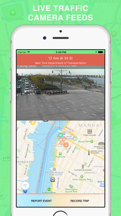 Green Wave - Traffic Cameras and Live Alerts, Maps | App Price Drops