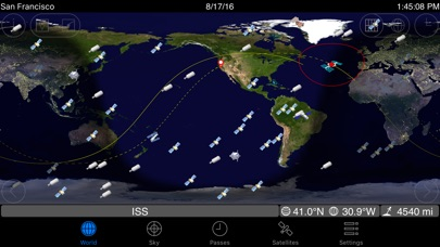 GoSatWatch Satellite ... screenshot1