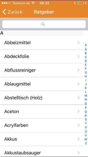 Abfall app awb gl im app store - Mobel entsorgung gratis ...