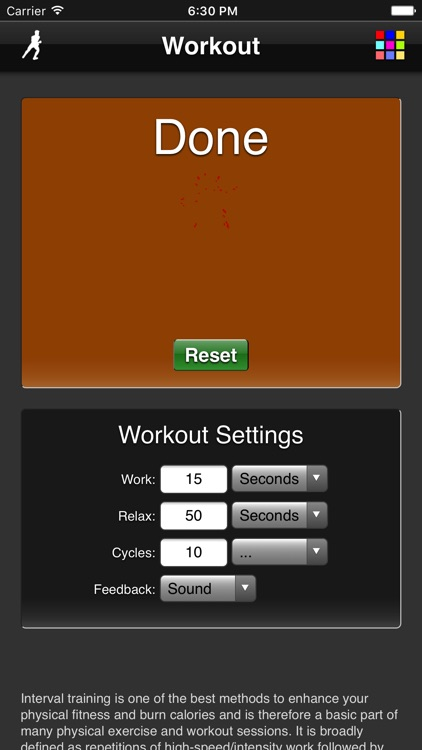 Workout screenshot-2