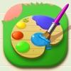 涂色花园—涂鸦描绘画森林小游戏